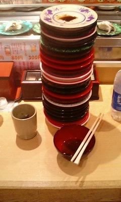 回転寿司、食べ放題